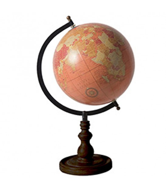 Globe Mappemonde Height 13cm