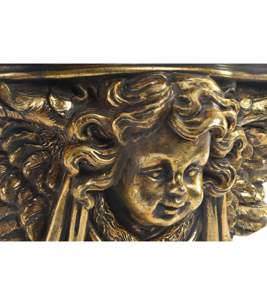 Wall Shelf Gold Resin Ancient