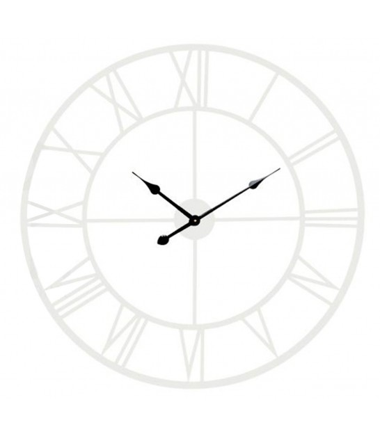 Antique White Iron Wall Clock