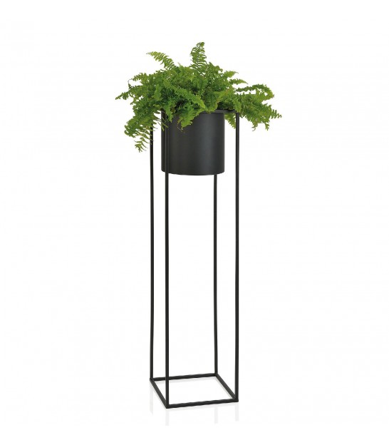 Plant Stand Black Metal - Height 100cm