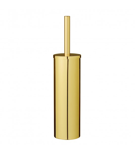 Toilet Brush Gold Metal