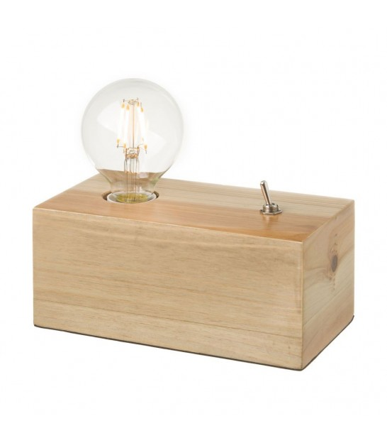 "Table Lamp ""Edison"" with dip switch Black"