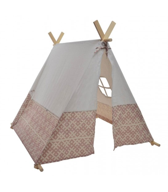 tente de jeu pour enfant tipi tose en coton et bois. Black Bedroom Furniture Sets. Home Design Ideas