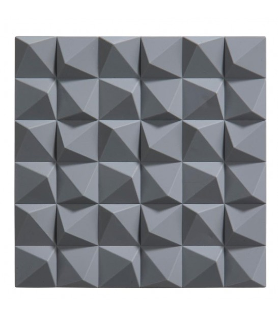 Trivet Grey Silicone Origami
