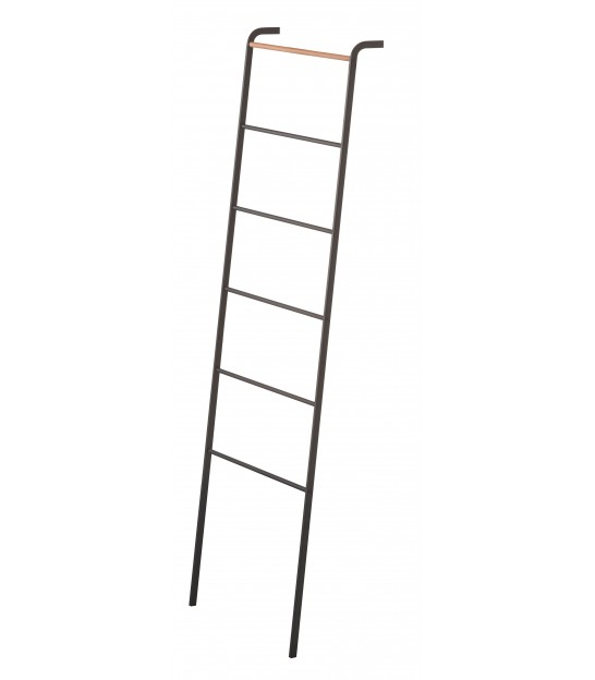 Black Decorative Wood Ladder