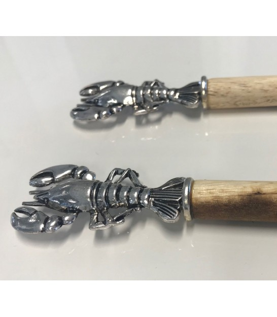 Lobster Wooden Salad Cutlery