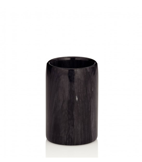Bathroom Tumbler Black Marble