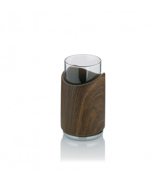 Bathroom Tumbler Walnut