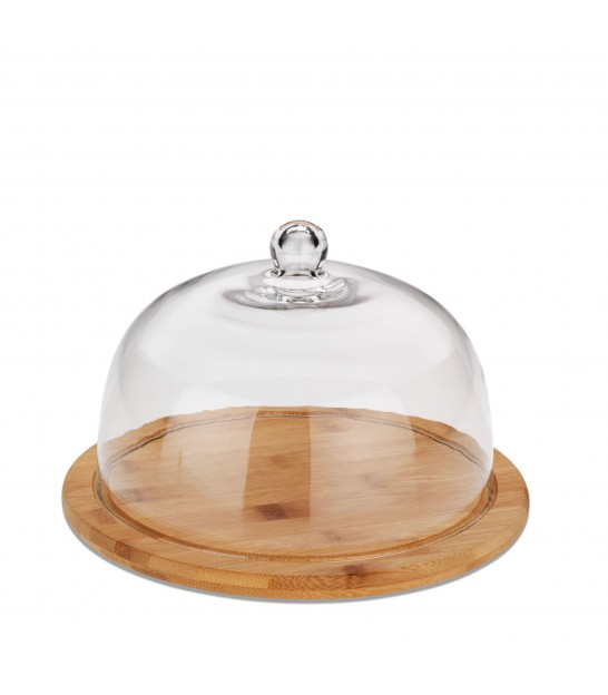 Cheese Tray withe Glass Cover
