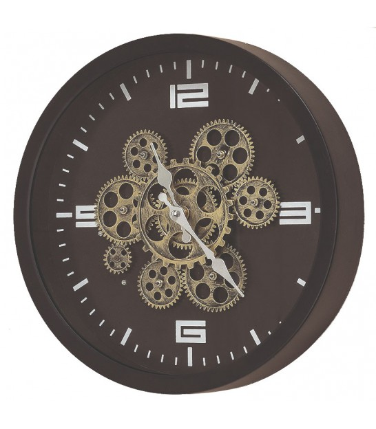 Round Wall Clock - Diameter 38cm