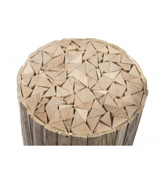 Table d'Appoint Ronde Bois Tronc