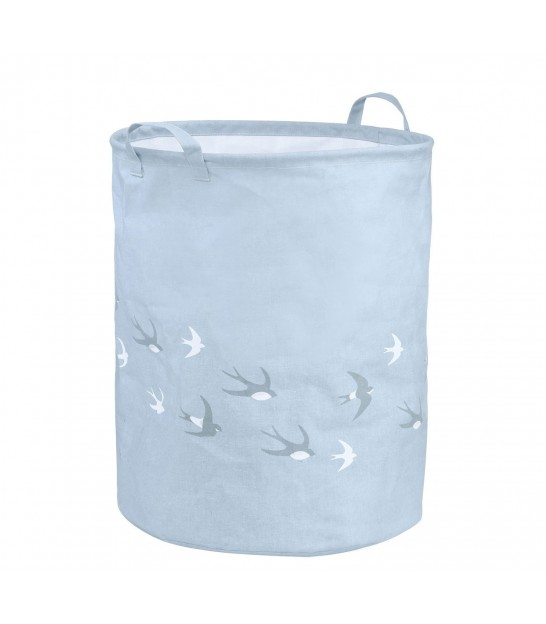 Laundry Bag Blue Birds