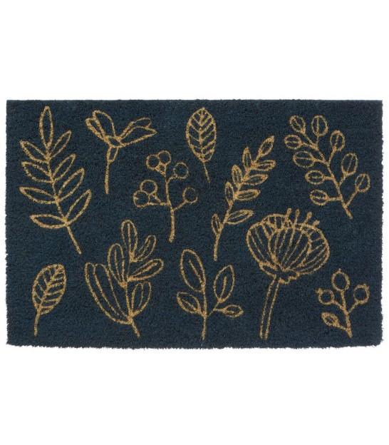 Botanical Coco Doormat Blue