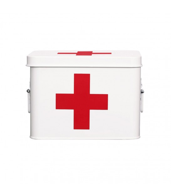 White and Red Cross Pharmacy Box