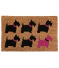 Scottie Dog Coco Doormat