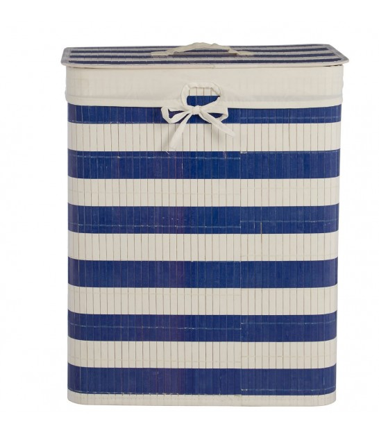 Square Laundry Basket Bamboo
