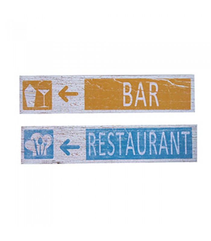 plaques d coratives signal tiques bar restaurant. Black Bedroom Furniture Sets. Home Design Ideas