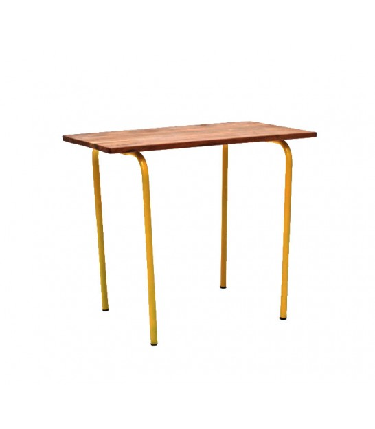 Yellow Vintage Kid Desk Old School
