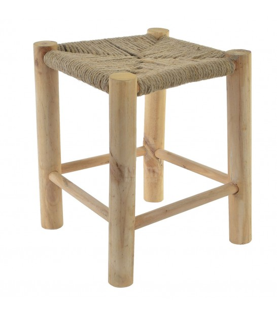 Stool Wood and Rope