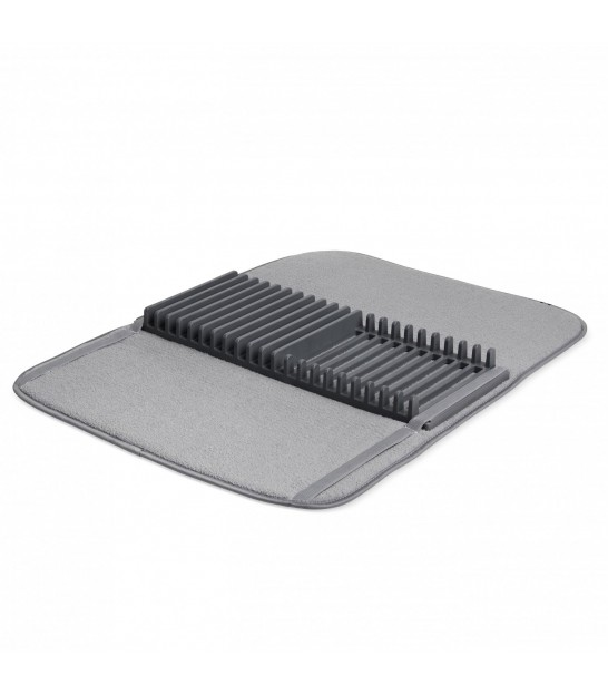 Grey Foldable Dish Rack Udry - 61x45.7cm