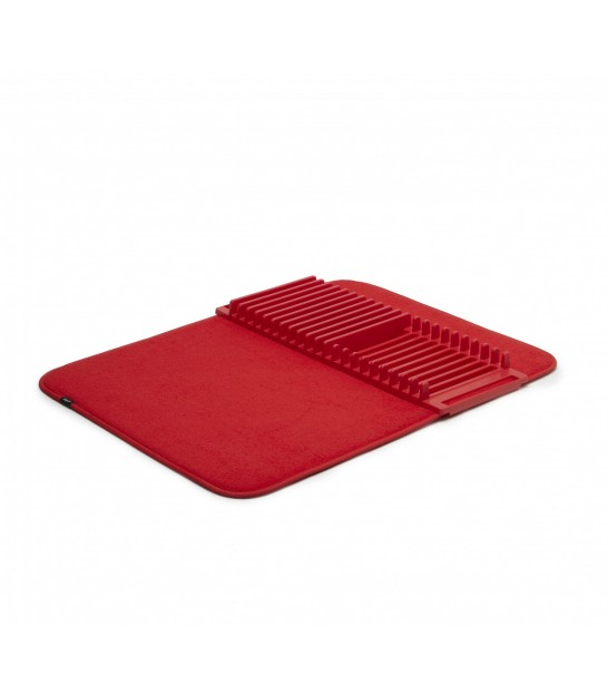 Red Foldable Dish Rack Udry - 61x45.7cm
