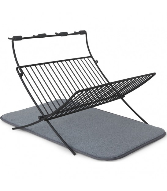Foldable Dish Rack Grey Xdry