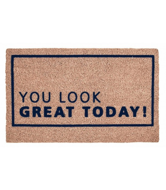 Coco Doormat You Look Great - 45x75cm