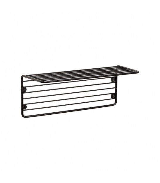 Wall Shelf Black Metal
