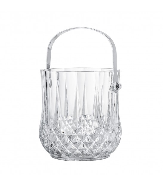 Ice Bucket Clear Glass