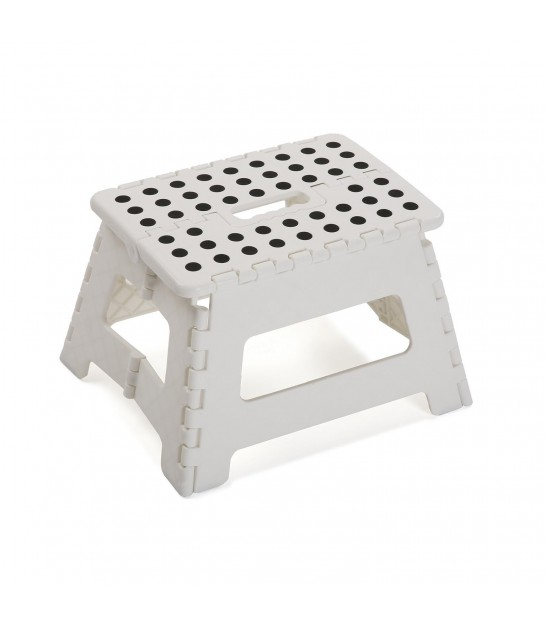 White Foldable Step Plastic - Height 22cm