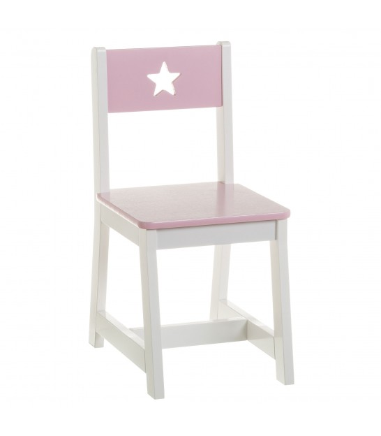 Kid Chair Pink MDF