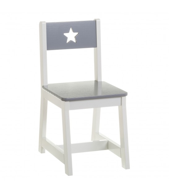 Kid Chair Grey MDF