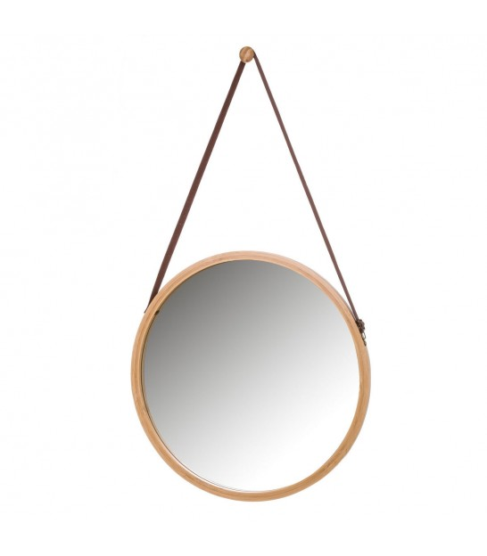 Suspended Mirror Bamboo