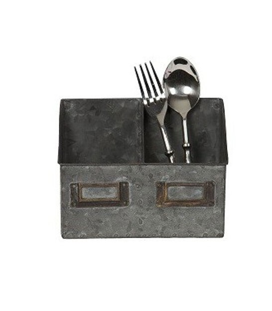 Kitchen Cutlery Holder Zinc