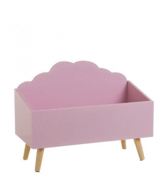 Toy Storage MDF Pink Cloud