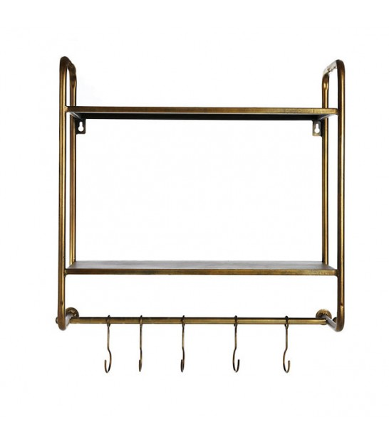 Wall Metal Shelf Antic Gold