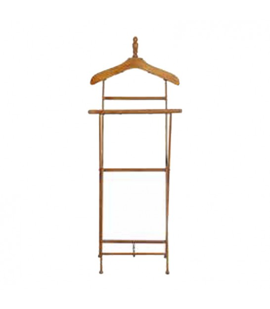 Valet Stand Black Wood