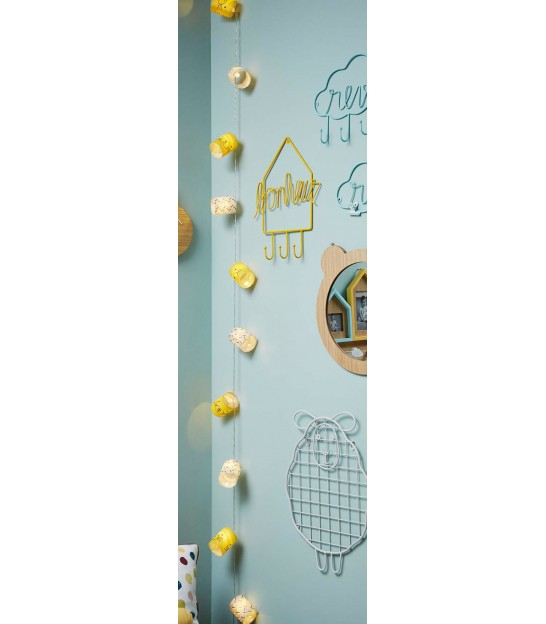 Wall Coat Rack Kids Blue