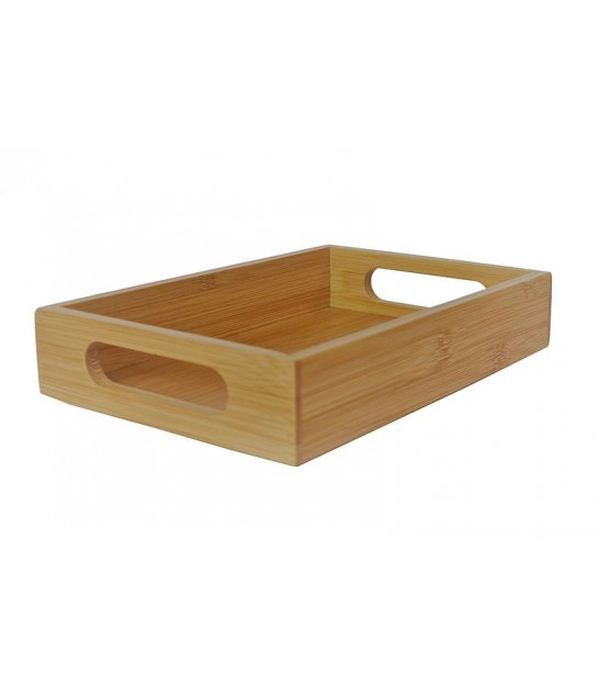 Bamboo Bathroom Organizer