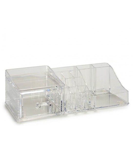 Acrylic Make-up Organizer 9 Compartments