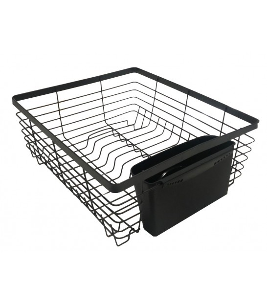 Black Metal Dish Drainer