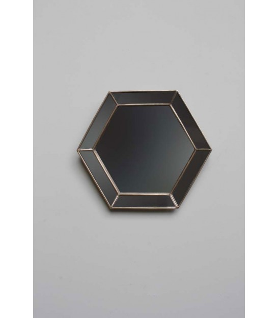 Miroir Hexagonal Bords Miroirs