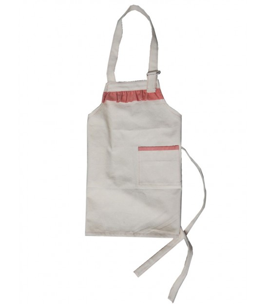 Kids Cooking Apron Pink