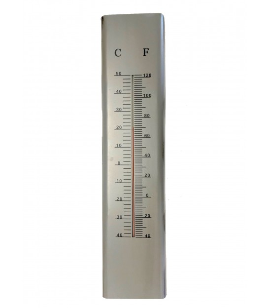 Thermometer Metal Grey