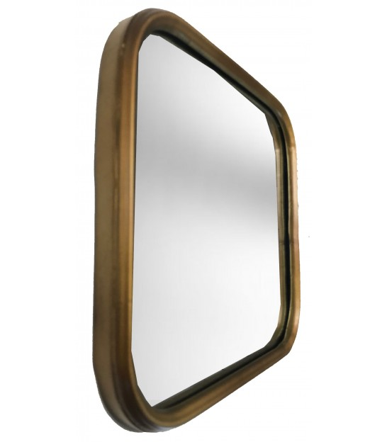 Wall Mirror Gold Oval