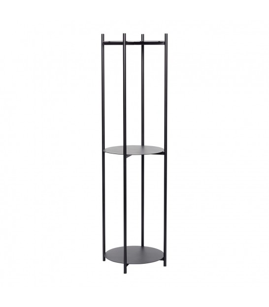 Shelf Round, metal, black