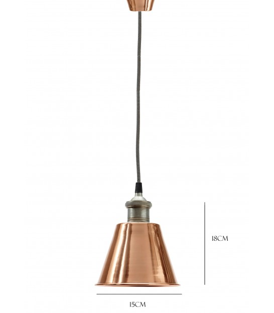 Lamp, Copper/Metal