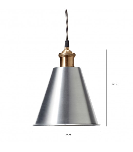 Lamp, Metal/Brass