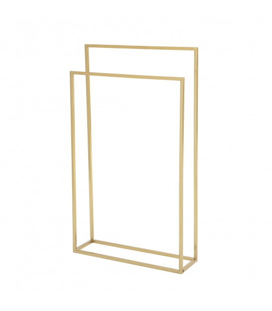 Towel Rack Golden Metal