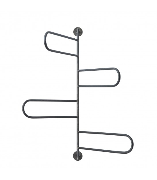 Towel Rack Black Metal Ladder